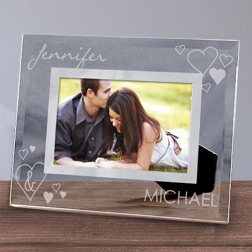 Personalized Engraved Just The Two Of Us Glass Picture Frame