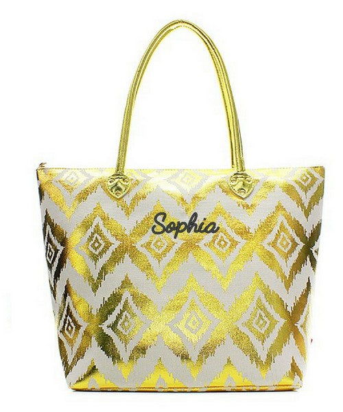 "Personalized 20"" Fashion Tote Bag"