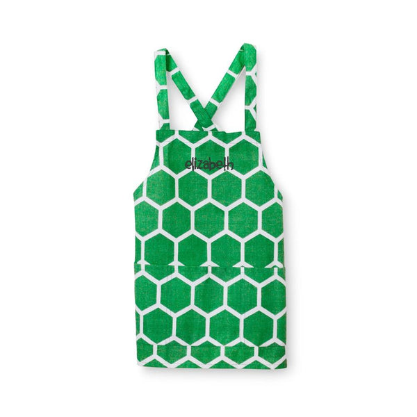 Personalized Christmas Honeycomb Aprons