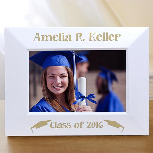 Personalized Engraved Graduation Picture Frame