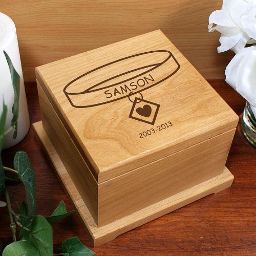 Personalized Engraved Memorial Pet Urn