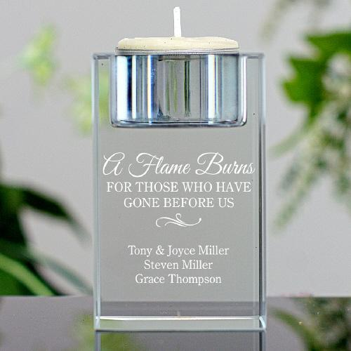 Personalized Memorial Candle Holder