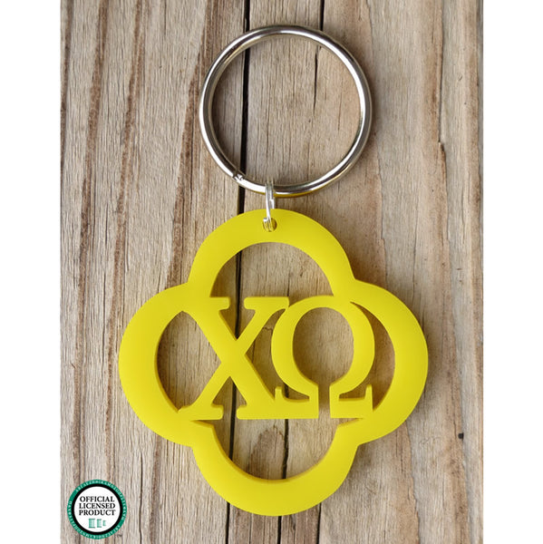 Personalized Lucky Greek Keychain Solid - Gifts Happen Here - 1