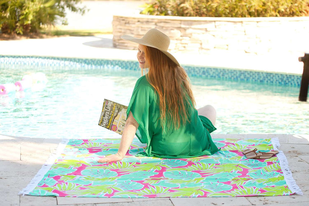 Personalized Oversized Sun Blanket Towel