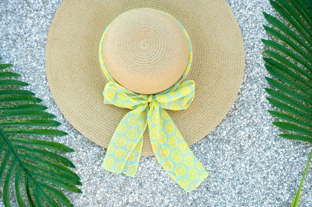 Summer Accent Scarf - Lemon Squeeze