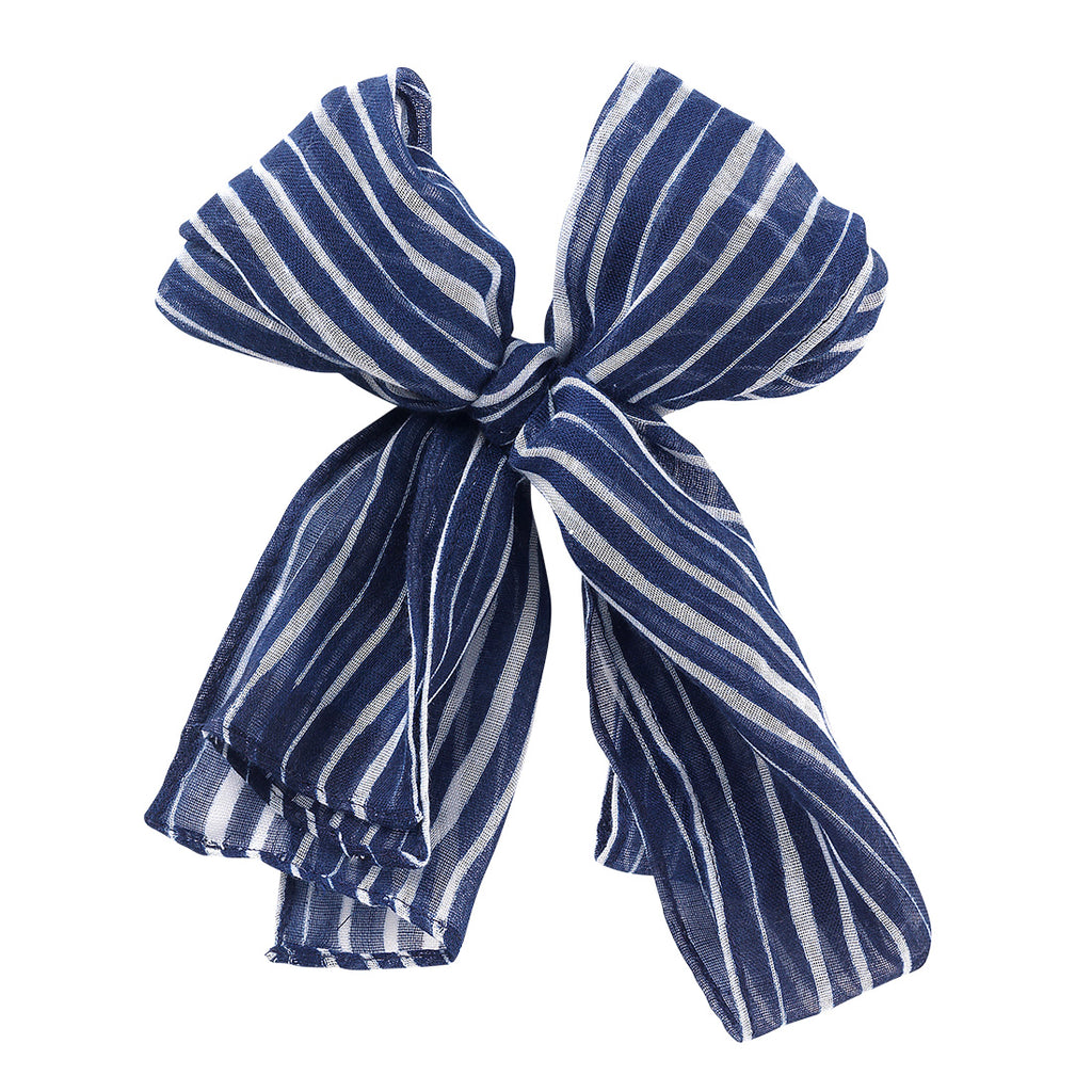 Summer Accent Scarf - Tide Navy