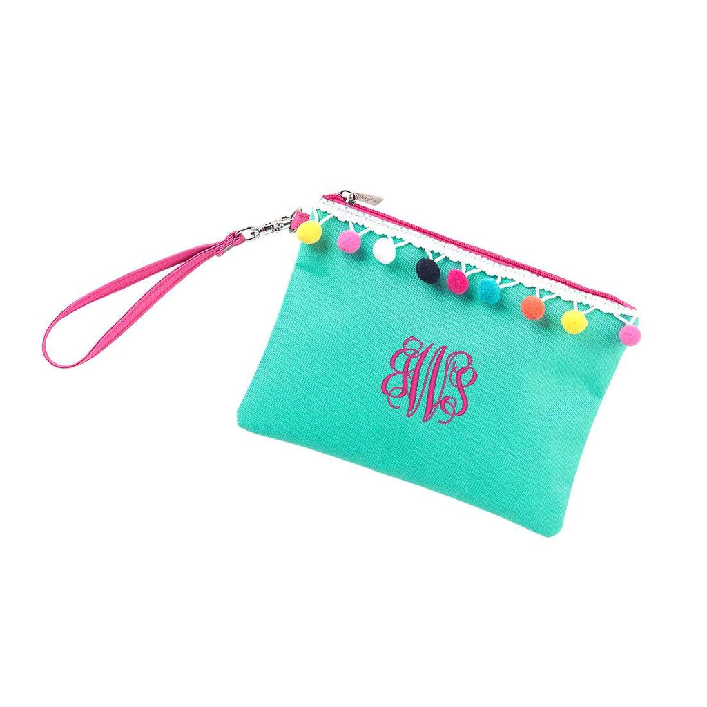 Personalized Mint Pom Pom Collection
