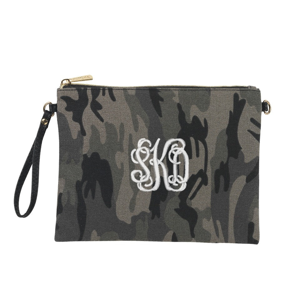 Monogrammed Crossbody Handbag - Animal Prints Purse