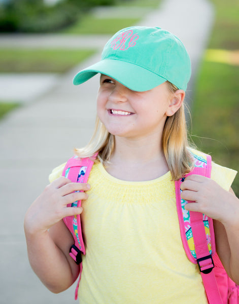 Personalized Monogrammed Kids Baseball Cap Toddler Hat - Gifts Happen Here - 8