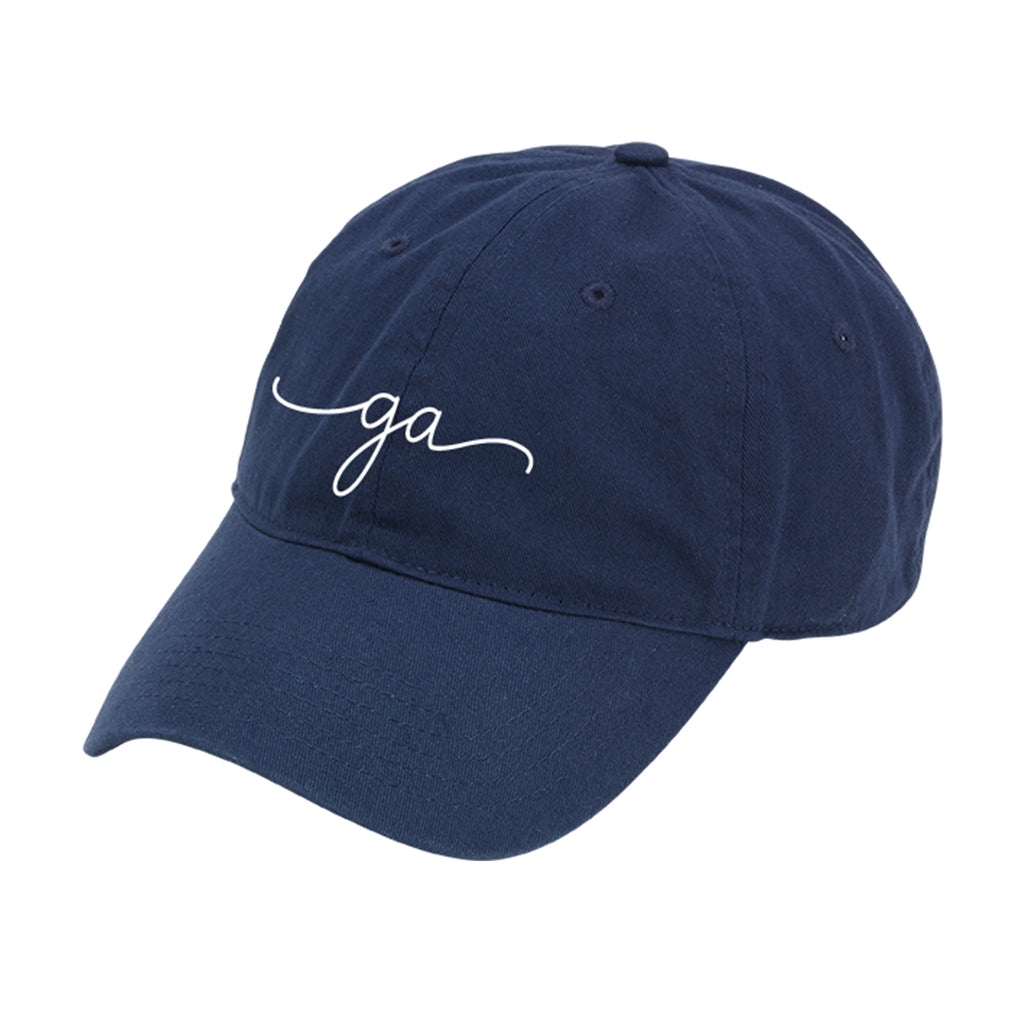 Georgia Rep Your State Navy Cap