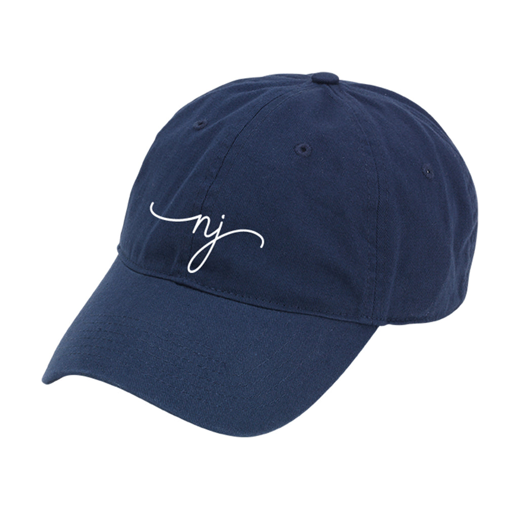 New Jersey Rep Your State Navy Cap