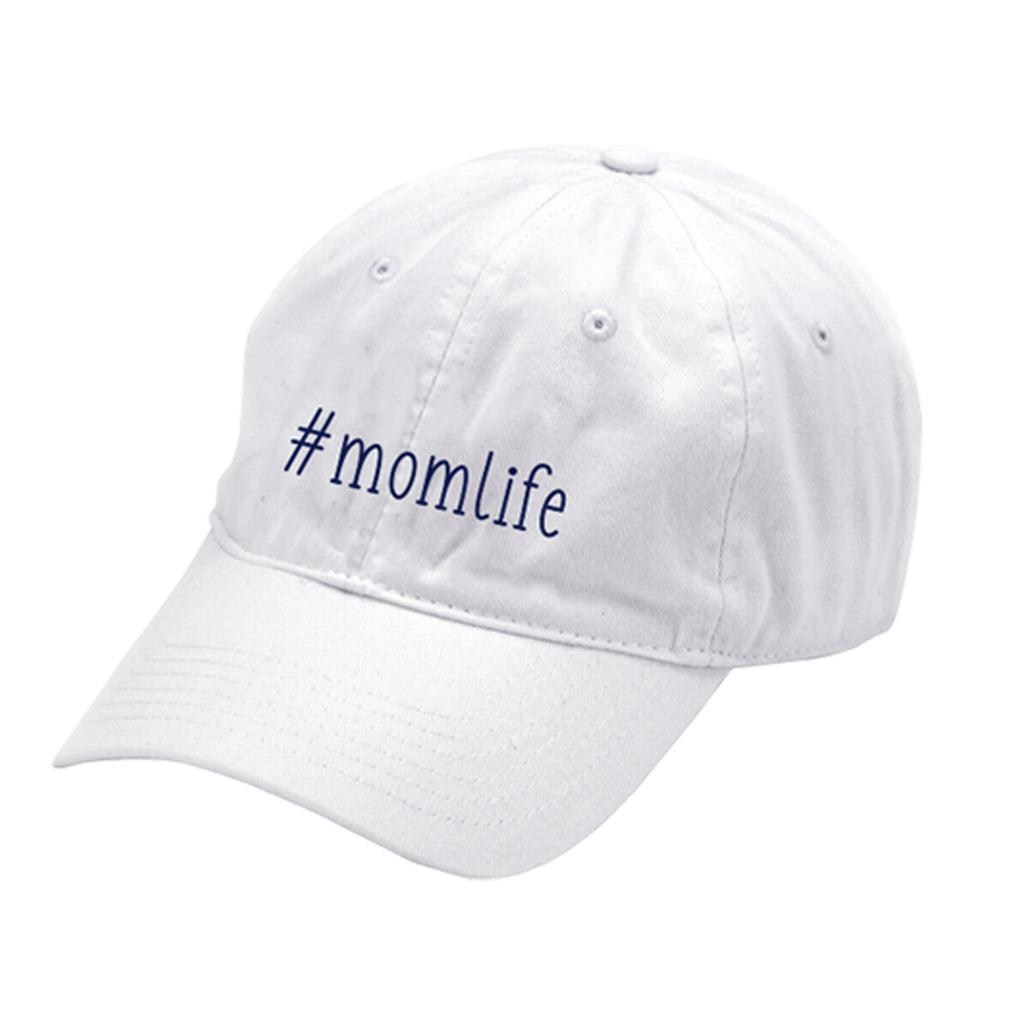 #momlife White Cap