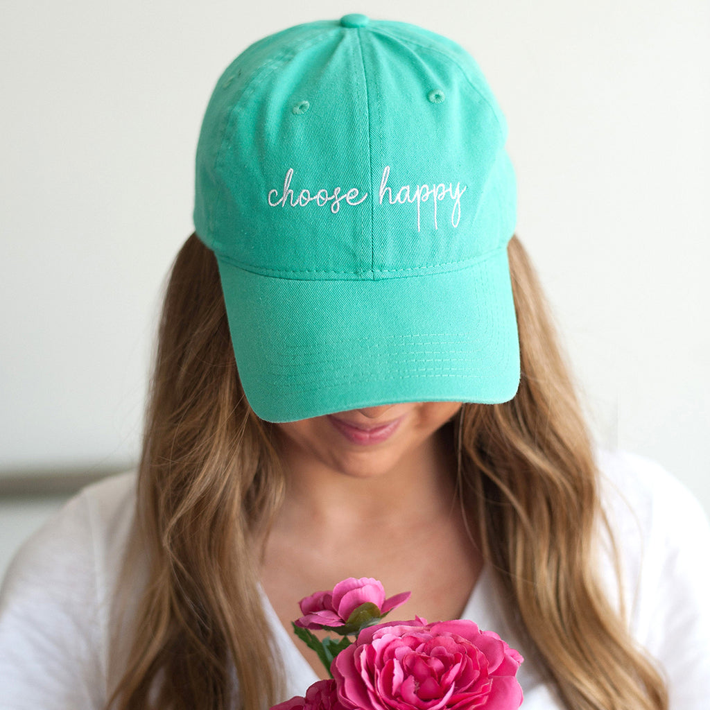 Mint Choose Happy Cap
