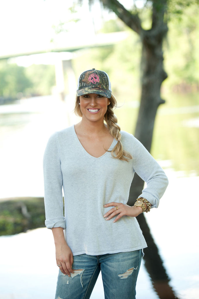Personalized Monogrammed Trucker Hat Baseball Cap - Gifts Happen Here - 22