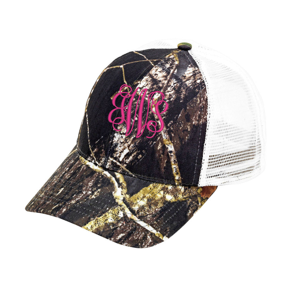 Personalized Monogrammed Trucker Hat Baseball Cap - Gifts Happen Here - 5