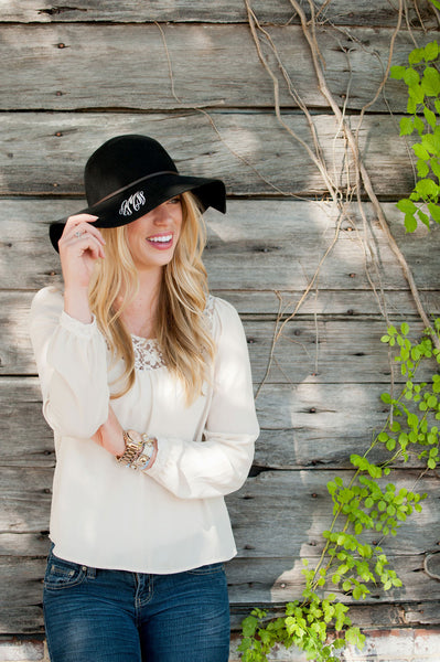 Personalized Wool Floppy Hat - Gifts Happen Here - 7