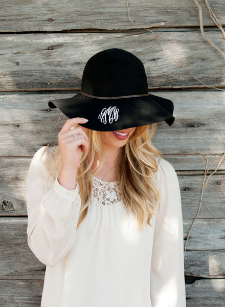 Personalized Wool Floppy Hat - Gifts Happen Here - 9