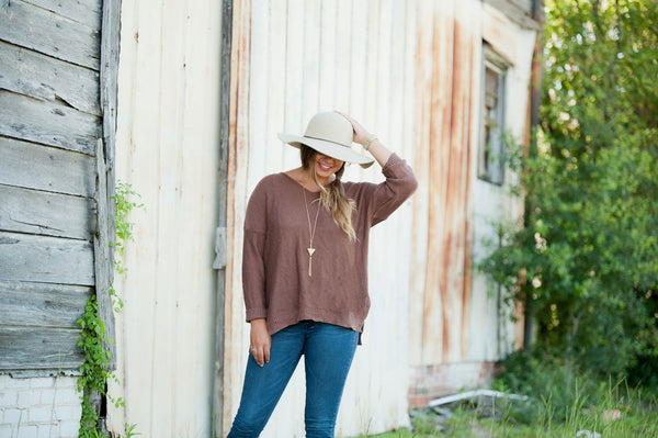 Personalized Wool Floppy Hat - Gifts Happen Here - 12