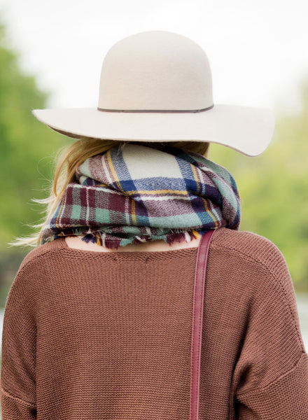 Personalized Wool Floppy Hat - Gifts Happen Here - 15
