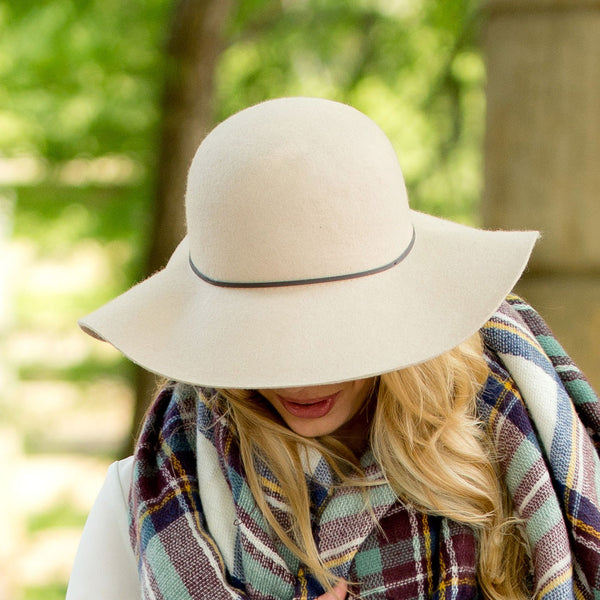 Personalized Wool Floppy Hat - Gifts Happen Here - 11