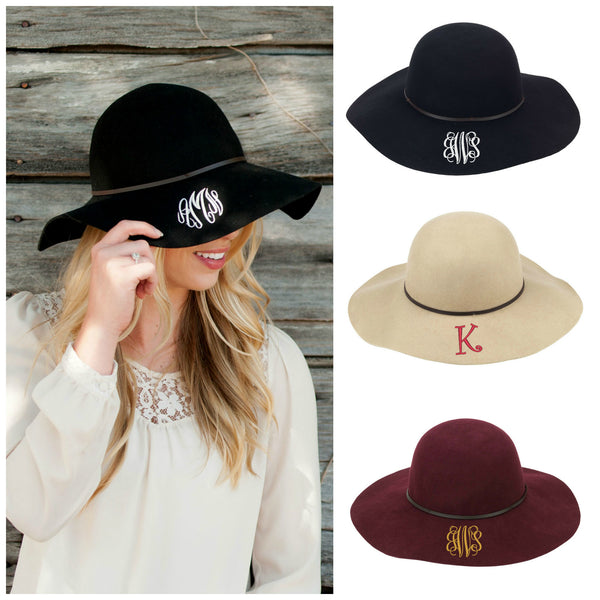 813829a5373b3 Personalized Wool Floppy Hat - Gifts Happen Here - 1 ...