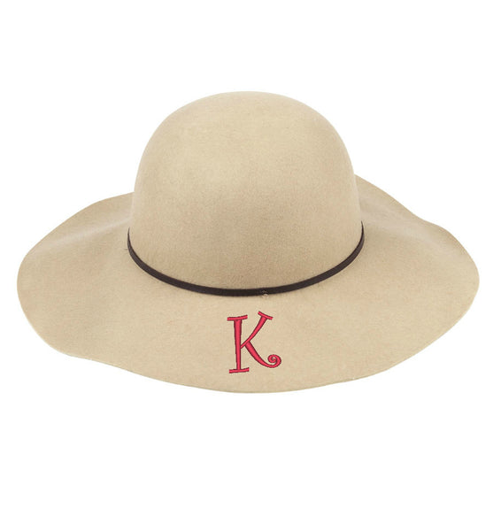 Personalized Wool Floppy Hat - Gifts Happen Here - 2