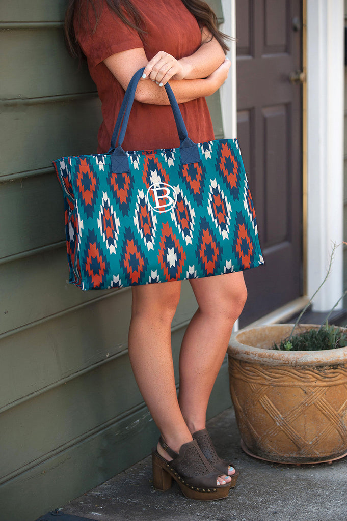 Personalized Large Tote Bag - Sierra
