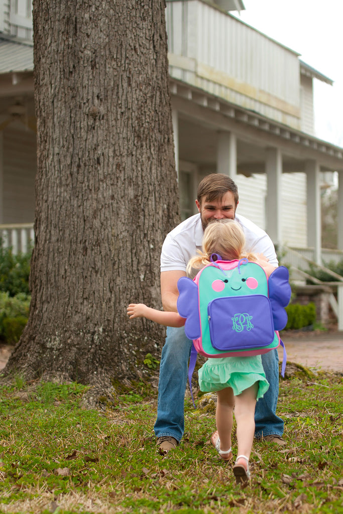 Personalized Preschool Backpack - Butterfly