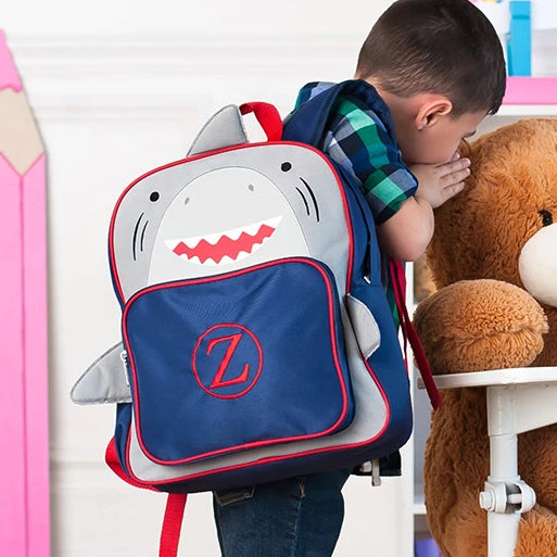 Personalized Preschool Backpack - Shark