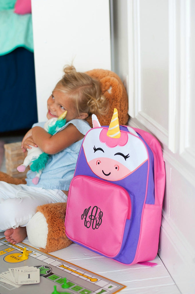 Personalized Preschool Backpack - Unicorn