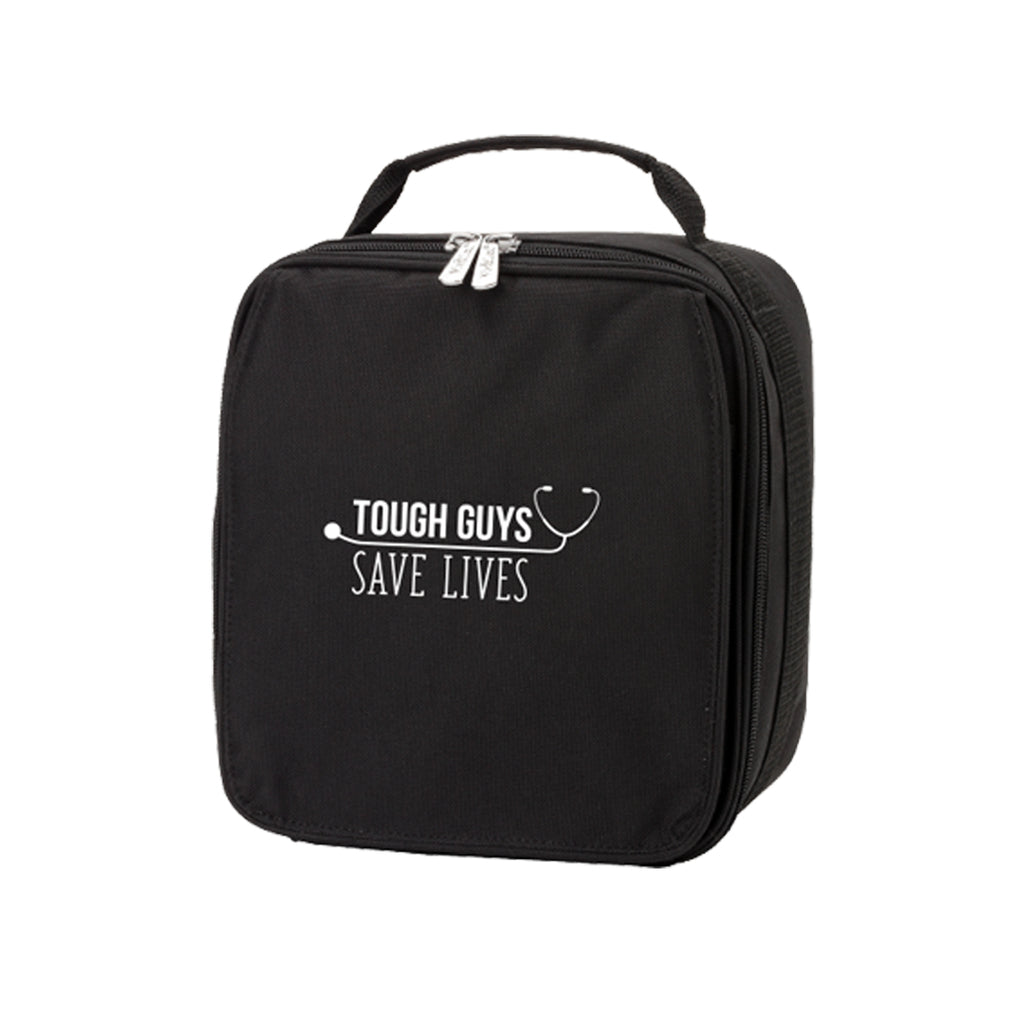 Tough Guys Save Lives Black Lunch Box