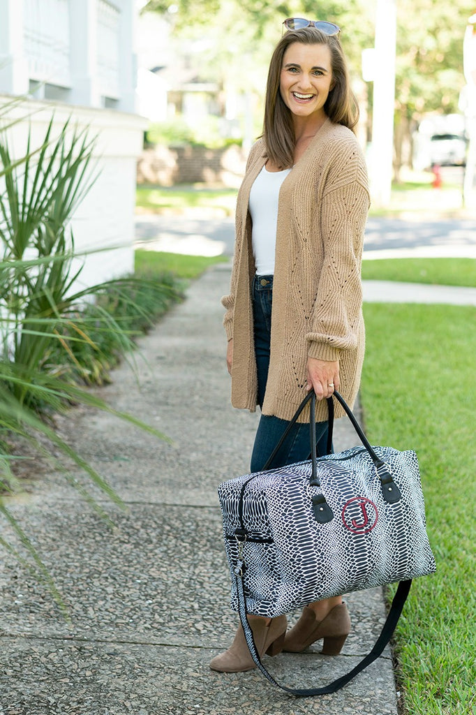 Personalized Large Weekender Bag