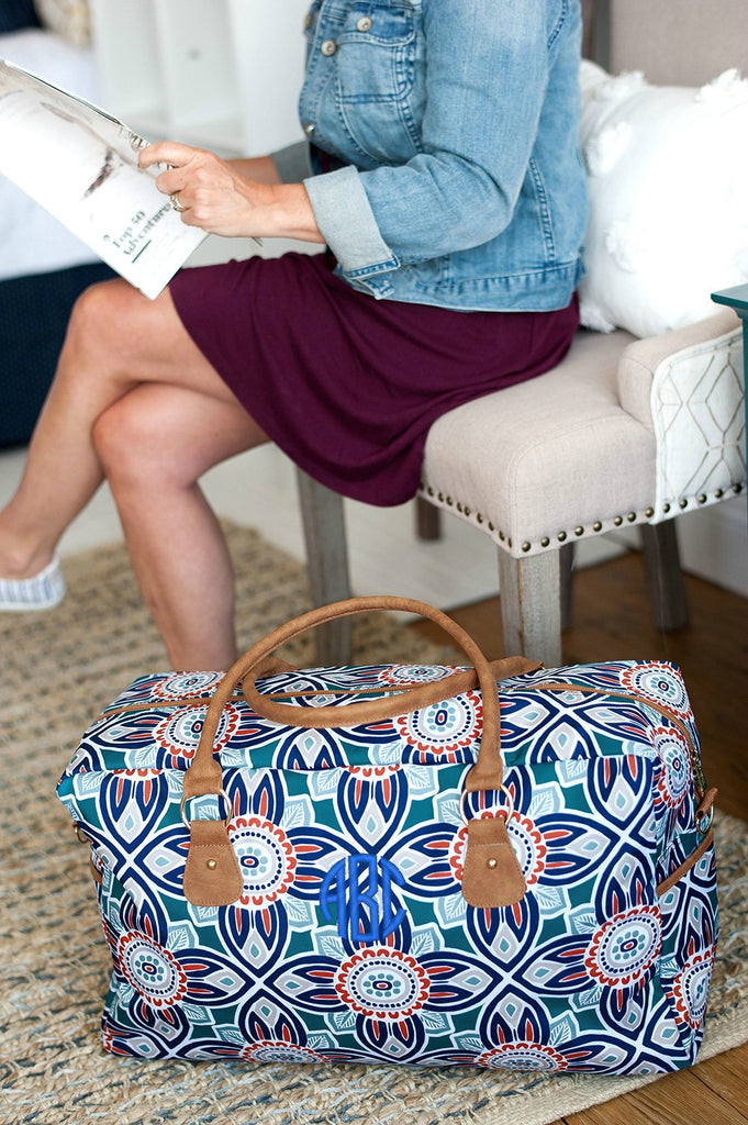 Personalized Large Weekender Bag - Maya
