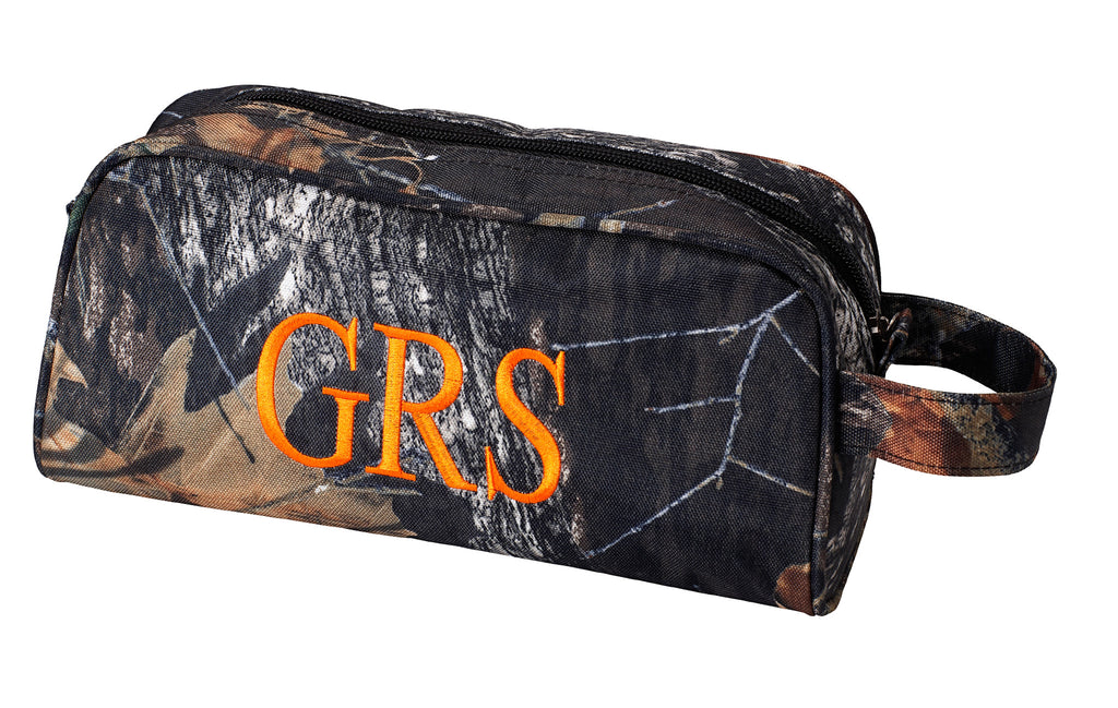 Personalized Mens Boys Toiletry Bag Travel Pouch - Gifts Happen Here - 3