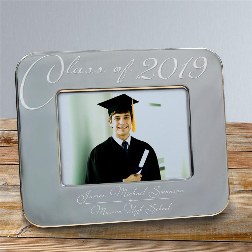 Personalized Engraved Class Of Graduation Picture Frame