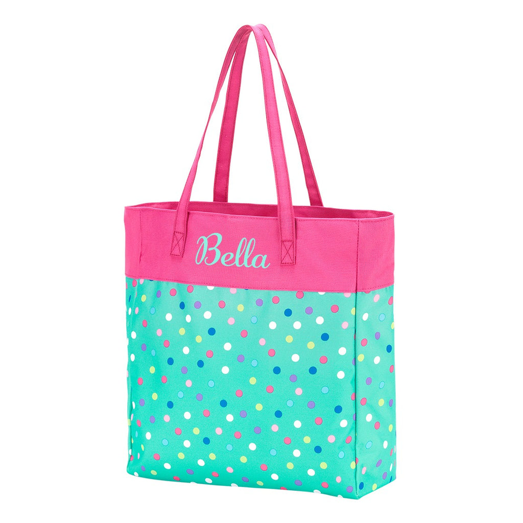 Personalized Girls Tote Bag