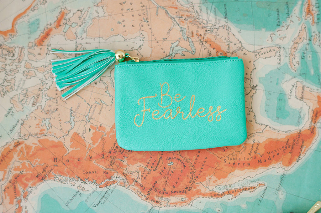 Mint Be Fearless Coin Purse