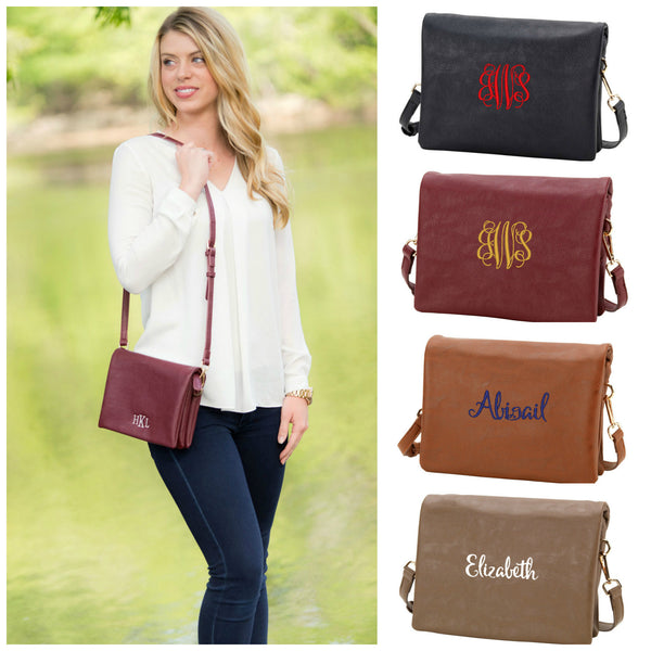Personalized Crossbody Handbag Palmer Purse - Gifts Happen Here - 1