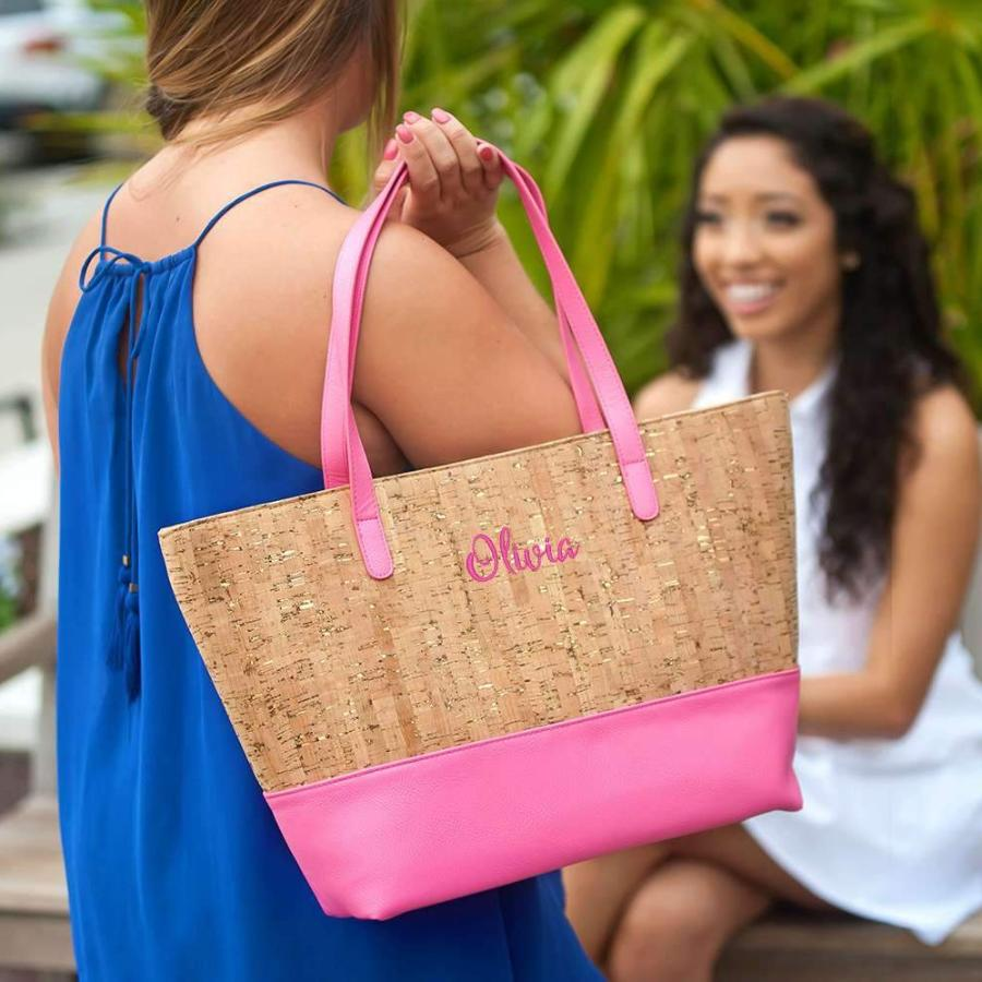 Personalized Cork Purse