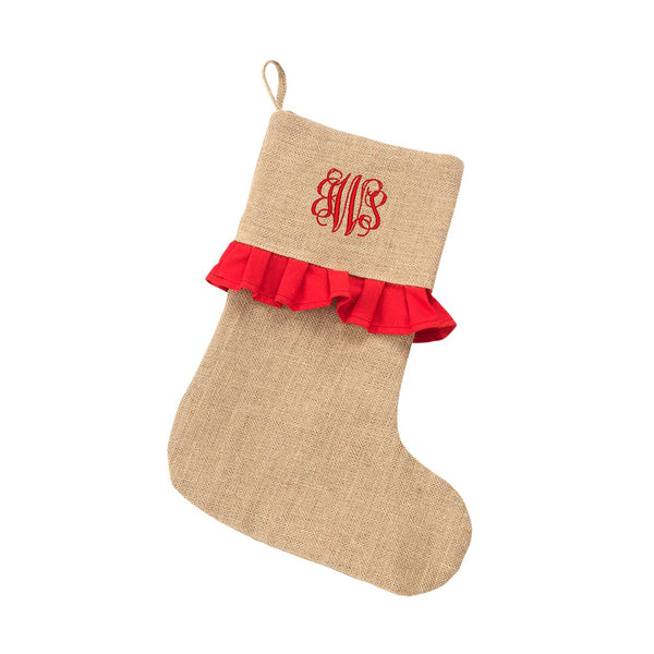 Personalized Monogrammed Christmas Stocking