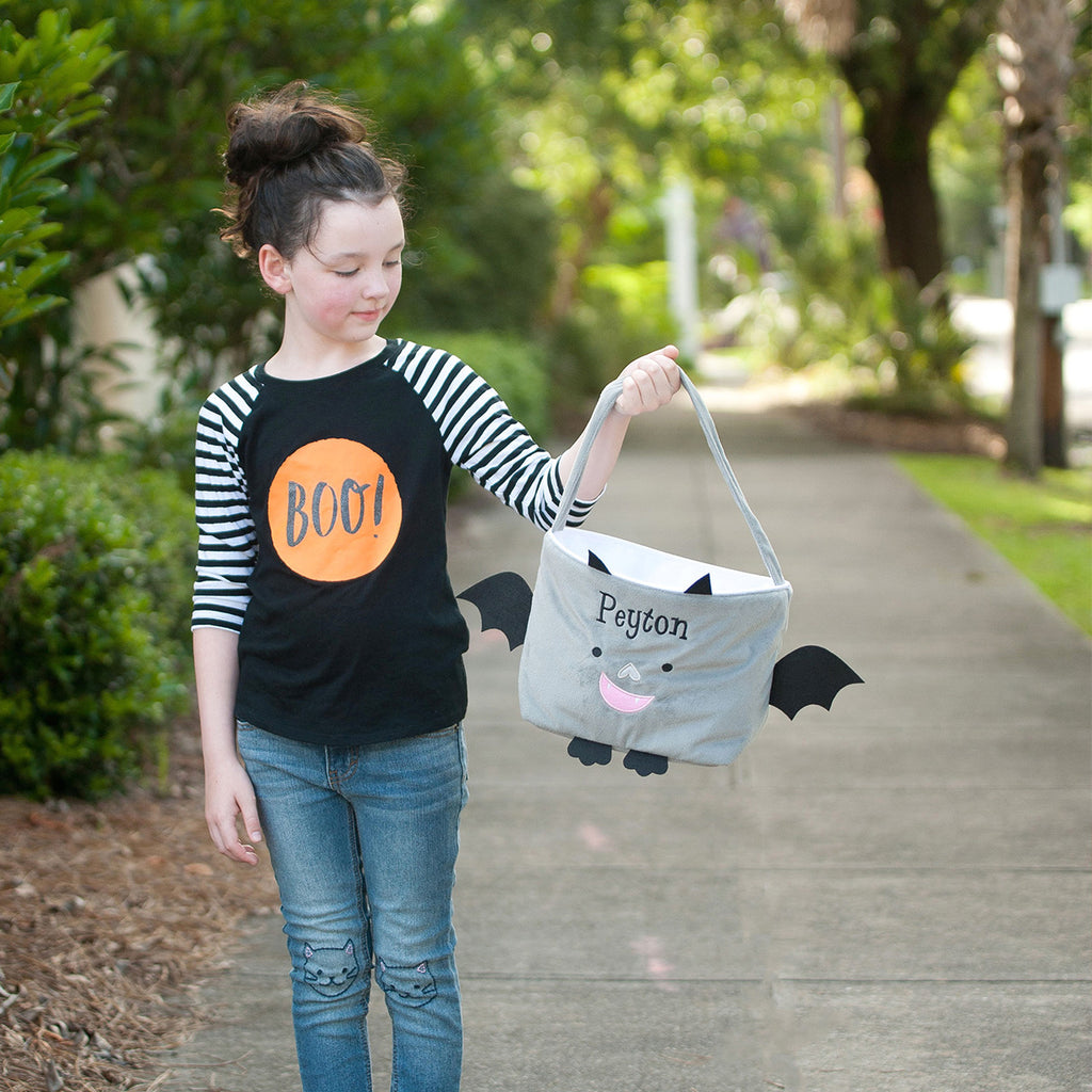 Personalized Trick or Treat Halloween Buckets