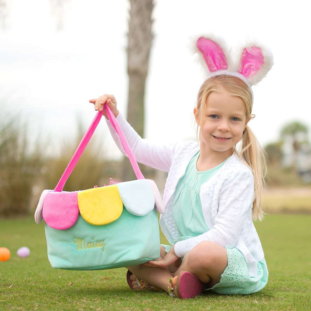Personalized Kids Easter Bunny Basket