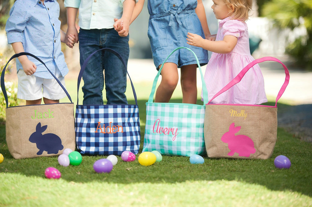 Personalized Kids Easter Basket Buckets
