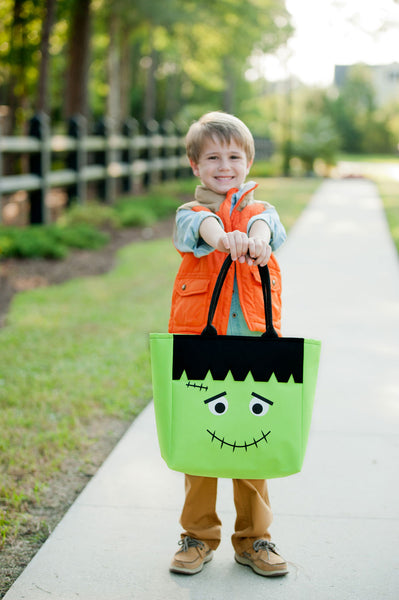 Personalized Name Halloween Bag Trick or Treat Sack - Gifts Happen Here - 27