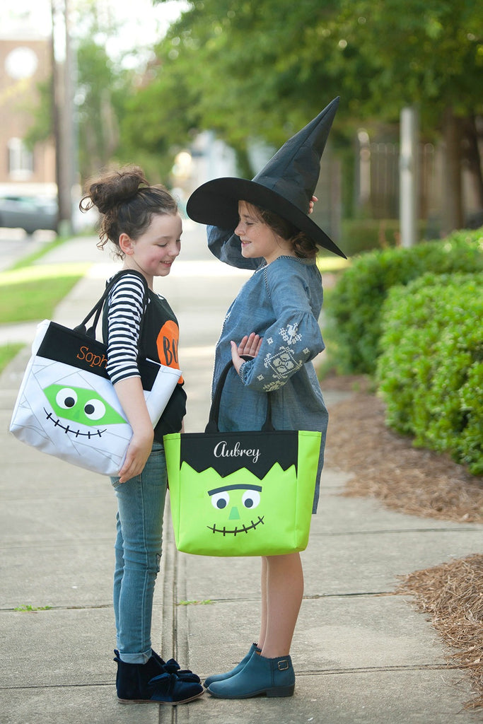 Personalized Halloween Bag Trick or Treat Sack - Mummy