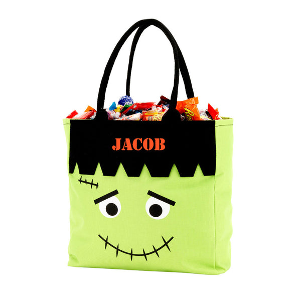 Personalized Name Halloween Bag Trick or Treat Sack - Gifts Happen Here - 5