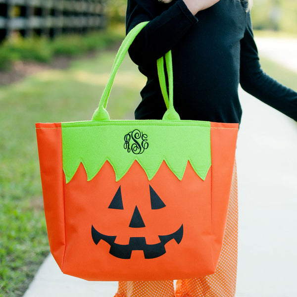 Personalized Name Halloween Bag Trick or Treat Sack - Gifts Happen Here - 15