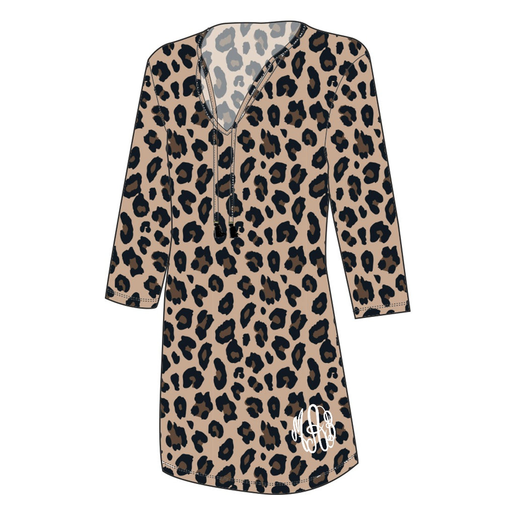 Personalized Leopard Tunic