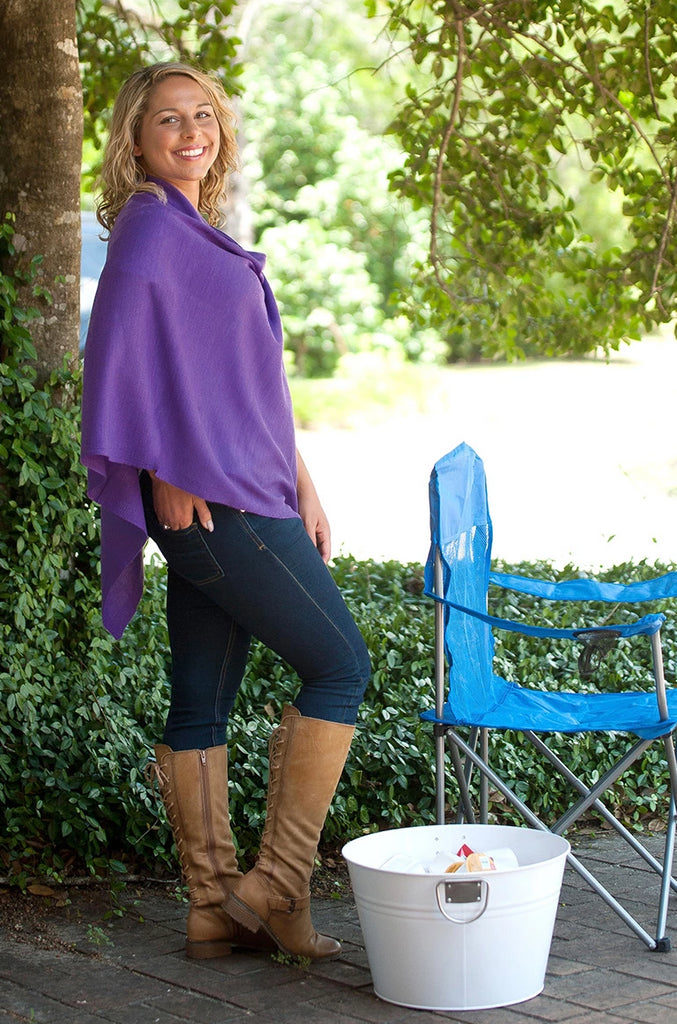 Personalized Game Day Poncho - Pashmina