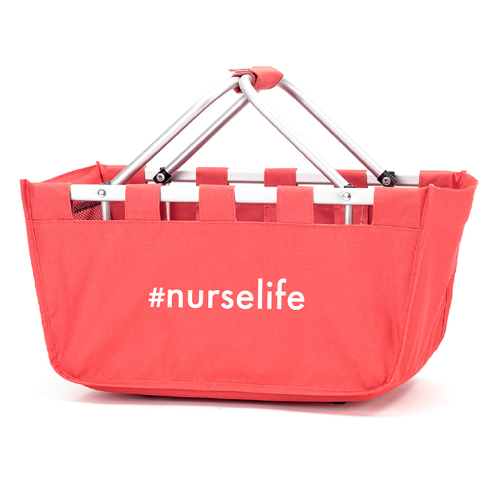 #nurselife Coral Market Tote